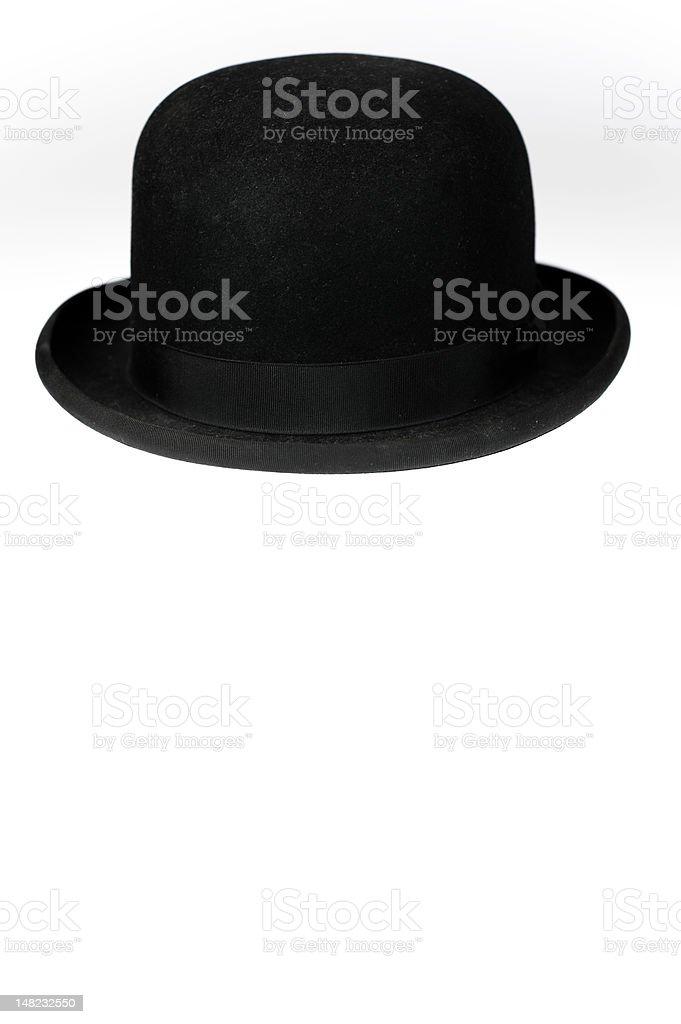 Derby Hat on White stock photo