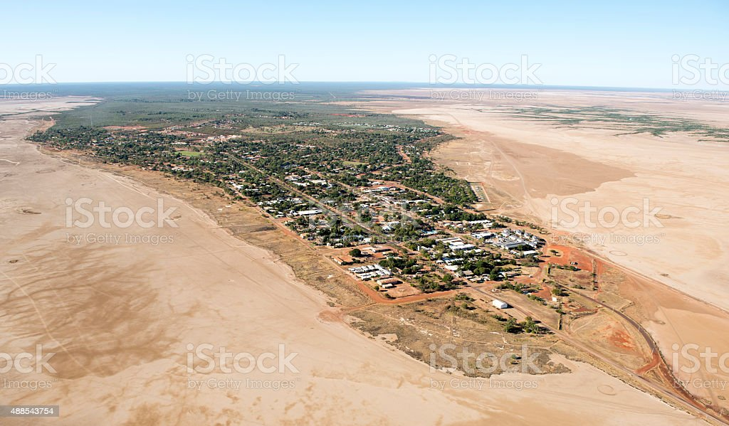 Derby Western Australia stock photo