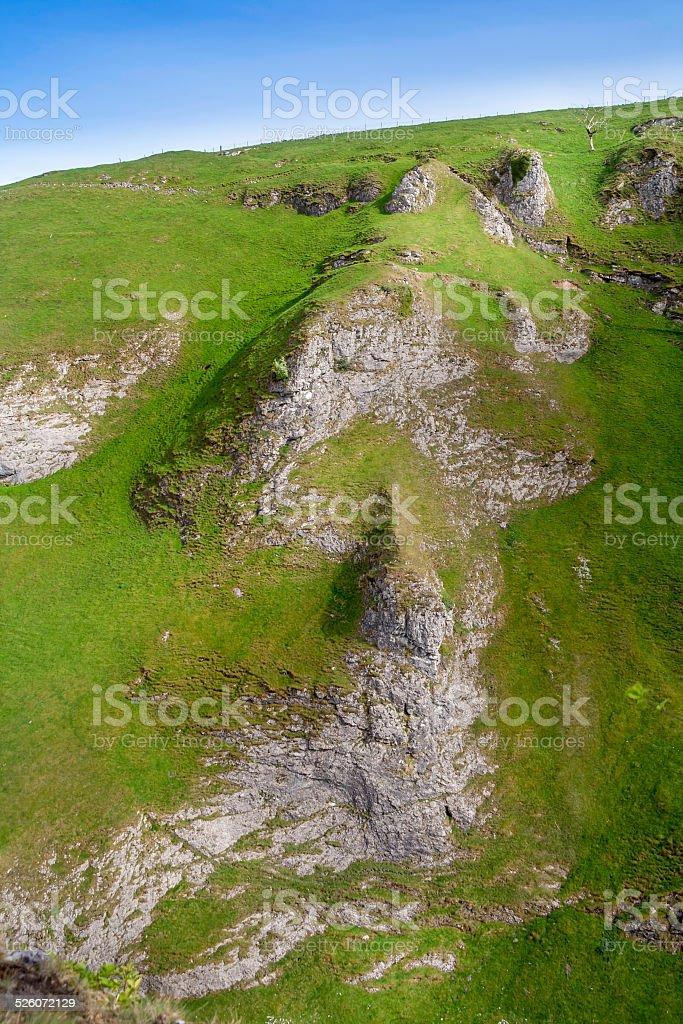 Derbyshire Peak District stock photo