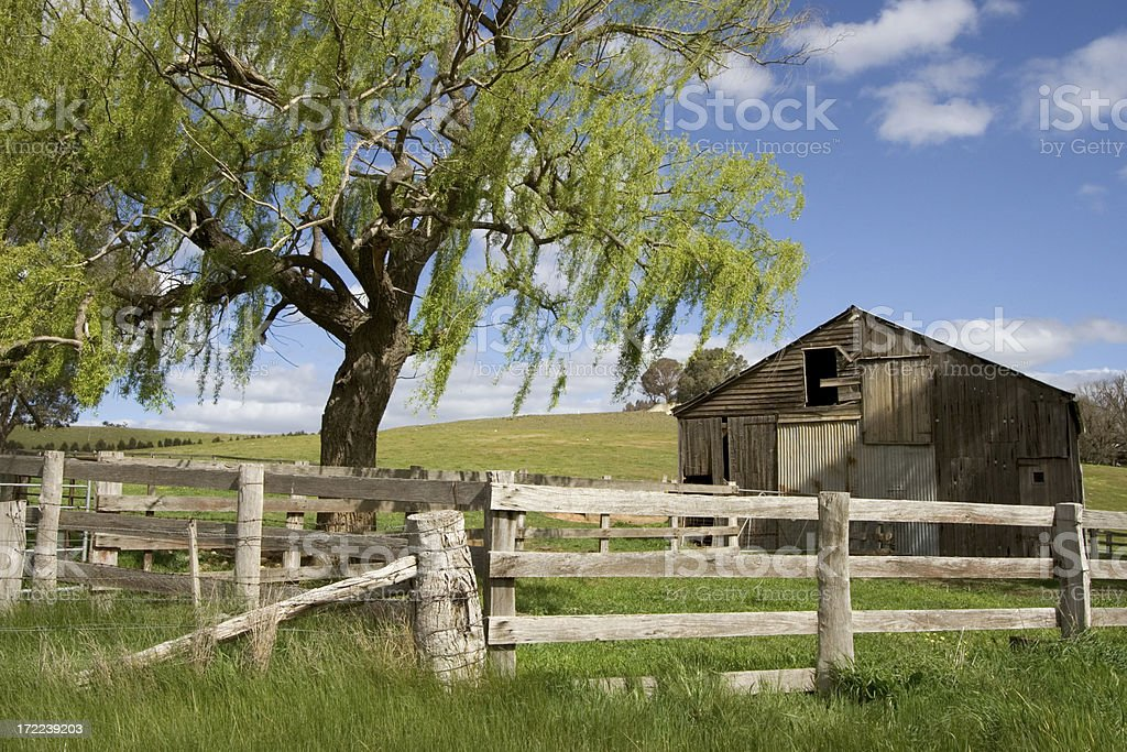 Derelict Barn royalty-free stock photo