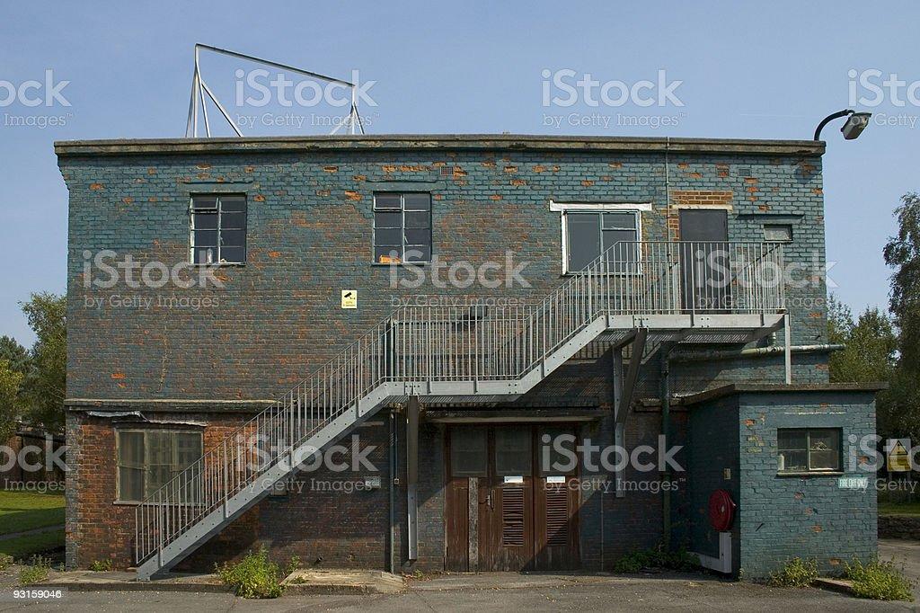 Derelict Building stock photo