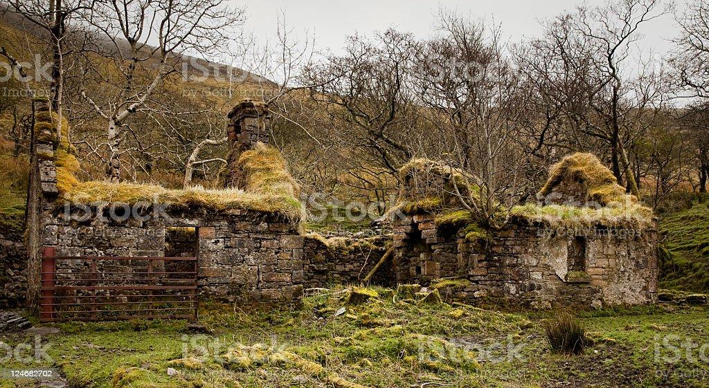 Verfallenes Cottage – Foto