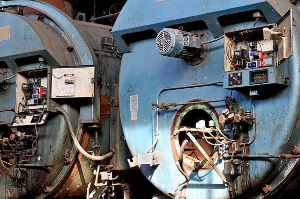 Derelict Furnaces  mike cherim stock pictures, royalty-free photos & images
