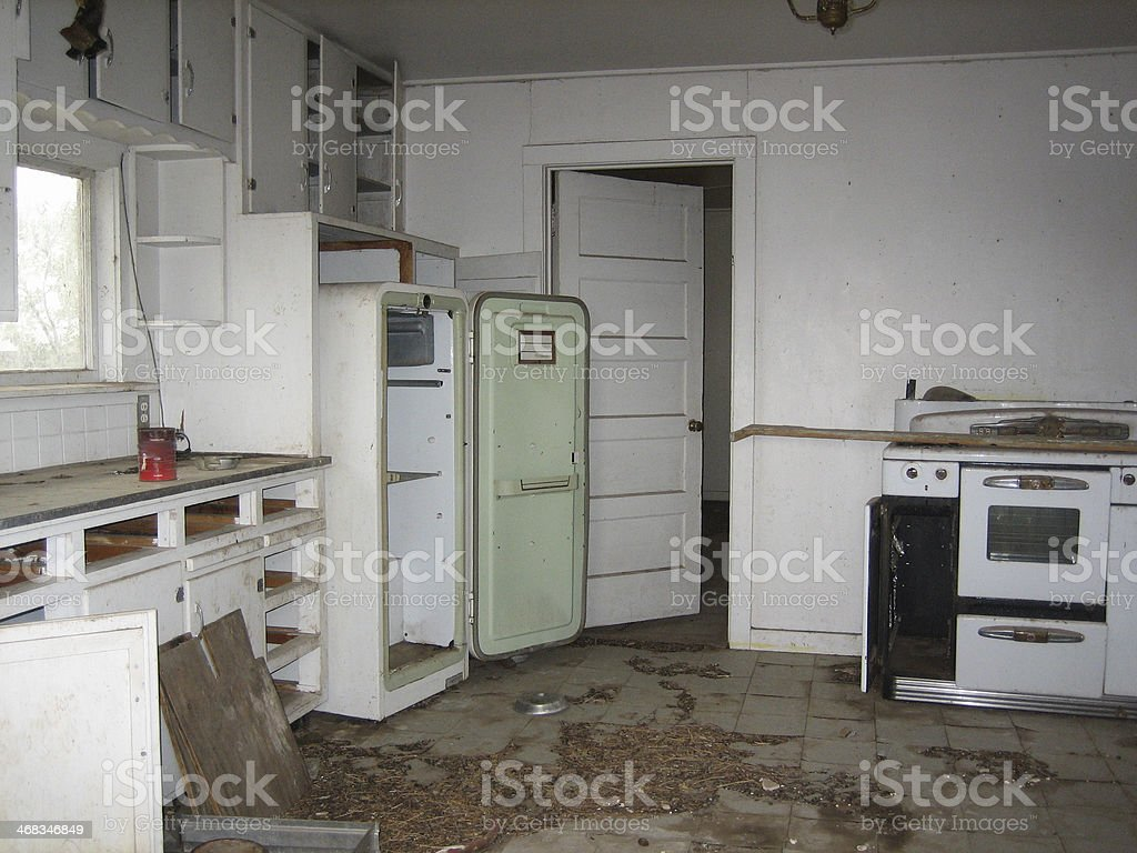 Derelict House in New Mexico royalty-free stock photo