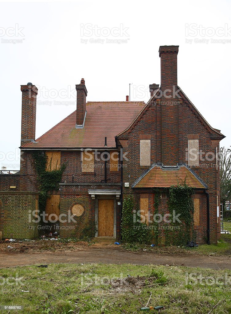 Derelict House royalty-free stock photo