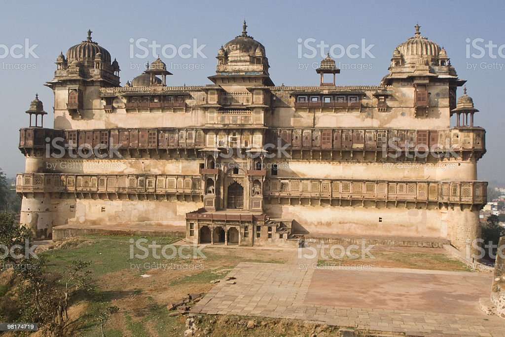 Derelict 인도어 Palace royalty-free 스톡 사진