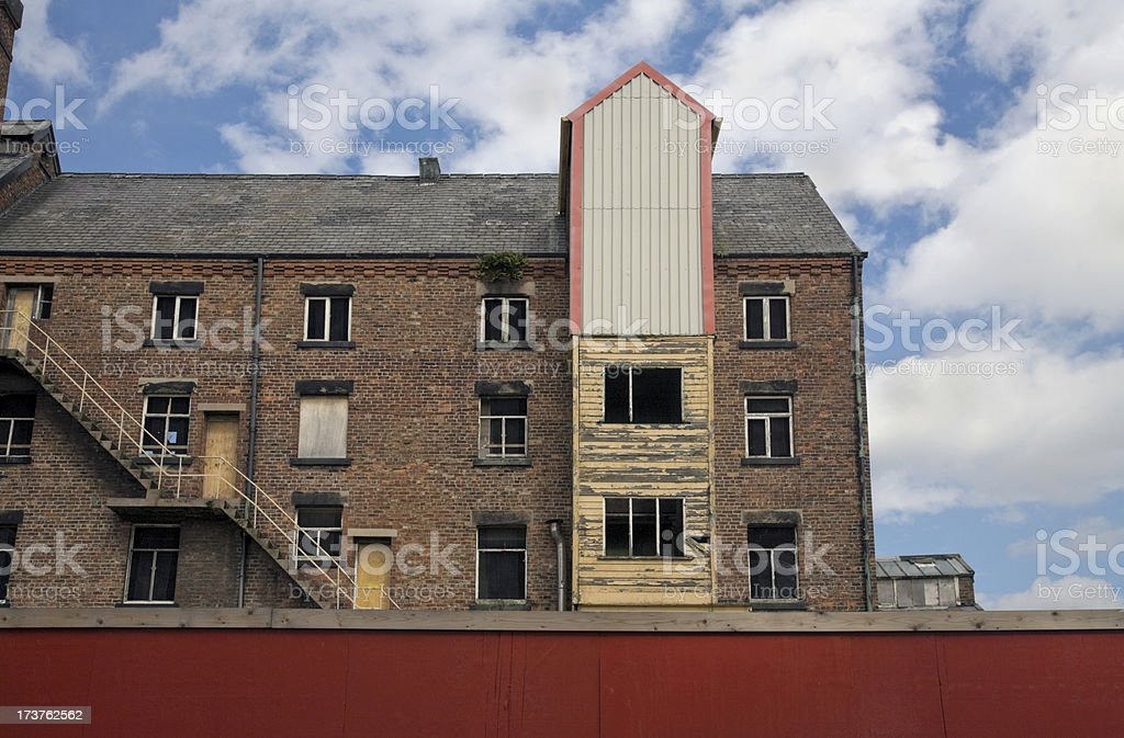 Derelict Mill, Manchester, UK-See lightbox  below for more stock photo
