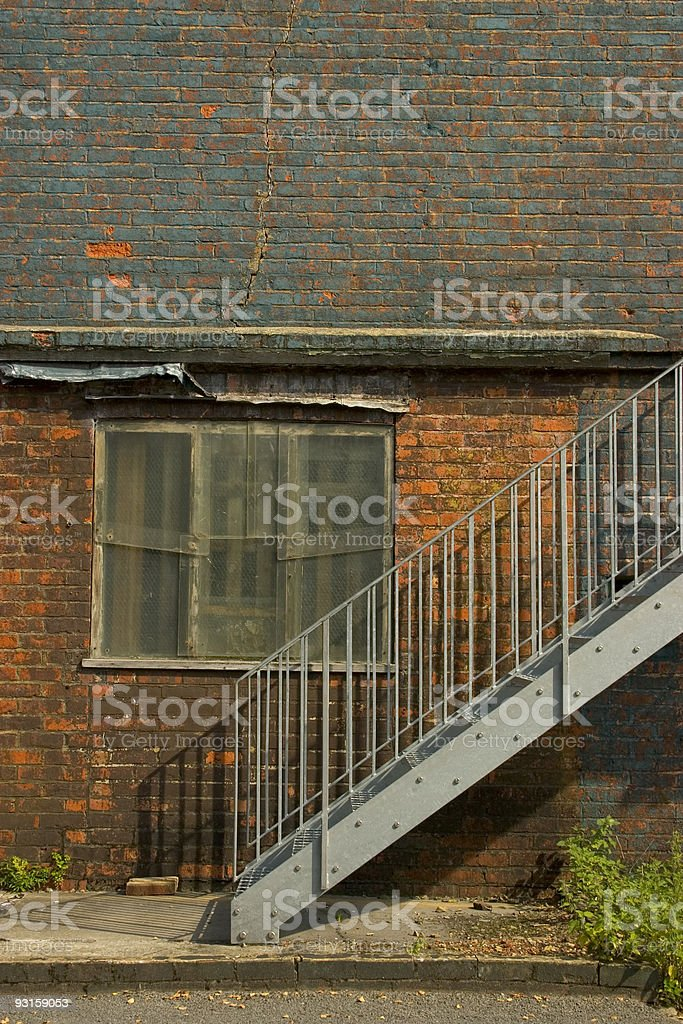 Derelict WW2 Building royalty-free stock photo