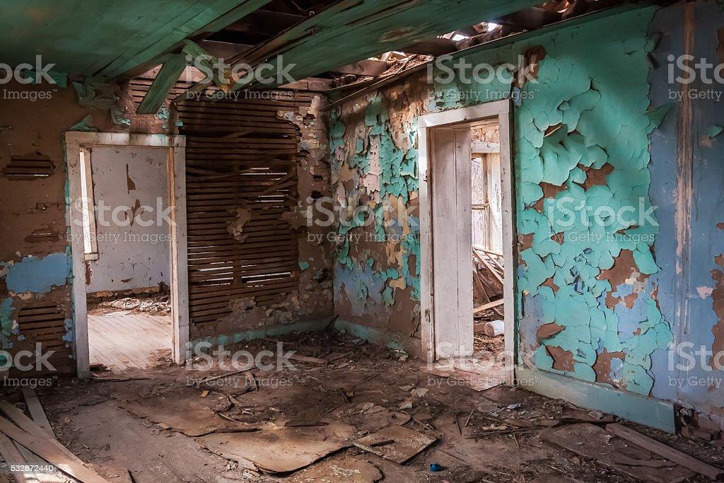 Dereliction stock photo