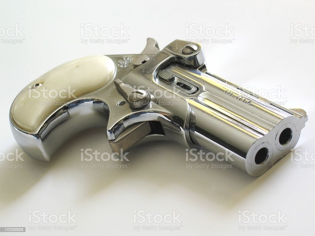 Deringer Pistol royalty-free stock photo