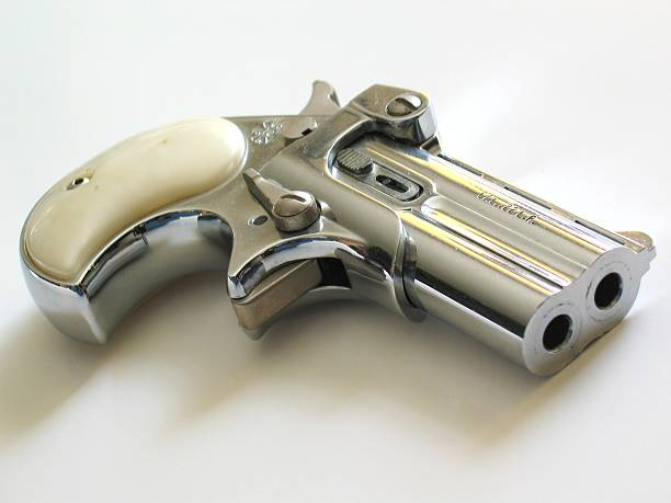 Deringer Pistol stock photo