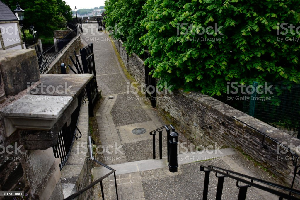 Derry Wall stock photo