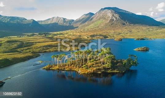 Derryclare Lough, along the Wild Atlantic Way, Connemara, Galway, Ireland.