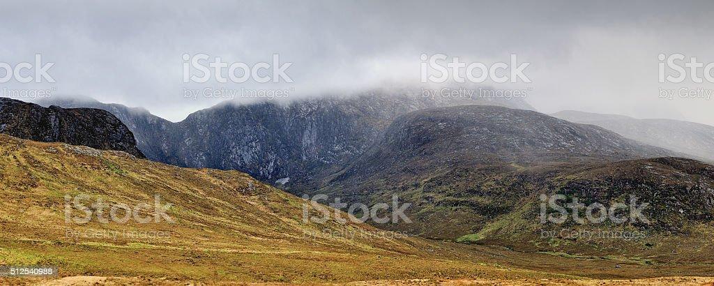 Derryveagh National Park stock photo