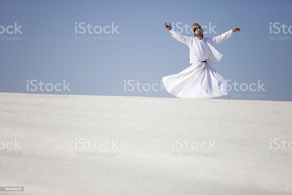 Dervish royalty-free stock photo