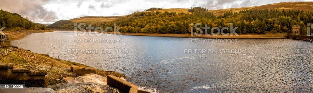Derwent Dam - Peak District royalty-free stock photo