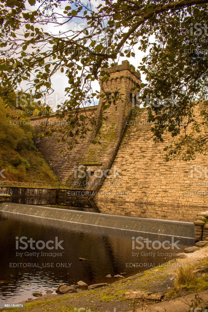 Derwent Dam - Peak District royalty-free stock photo