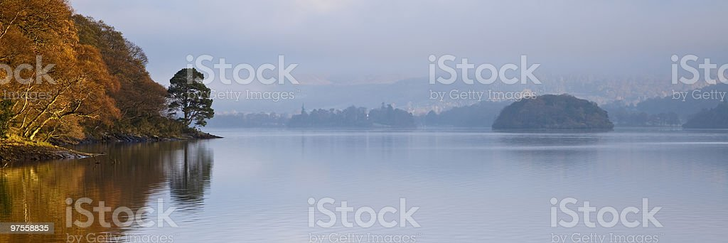Derwent Morning royalty-free stock photo