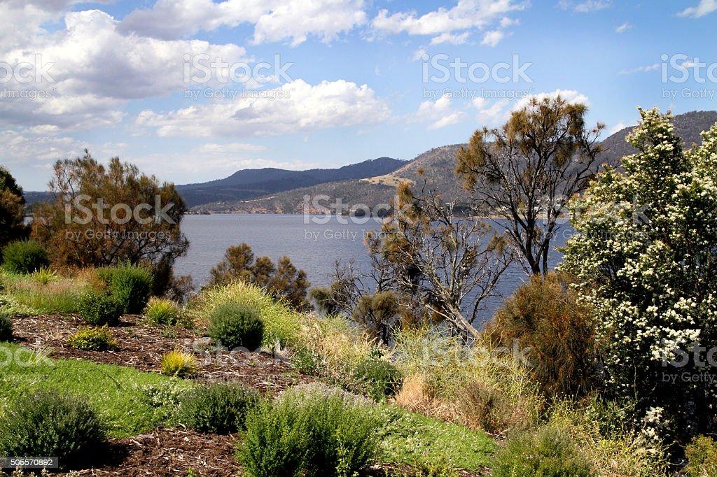 Derwent River stock photo