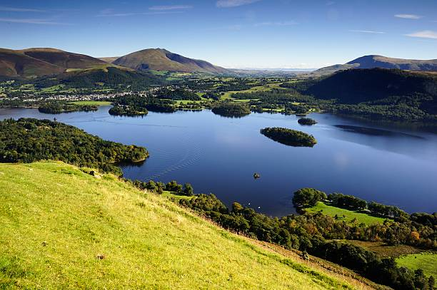 Derwent Water stock photo