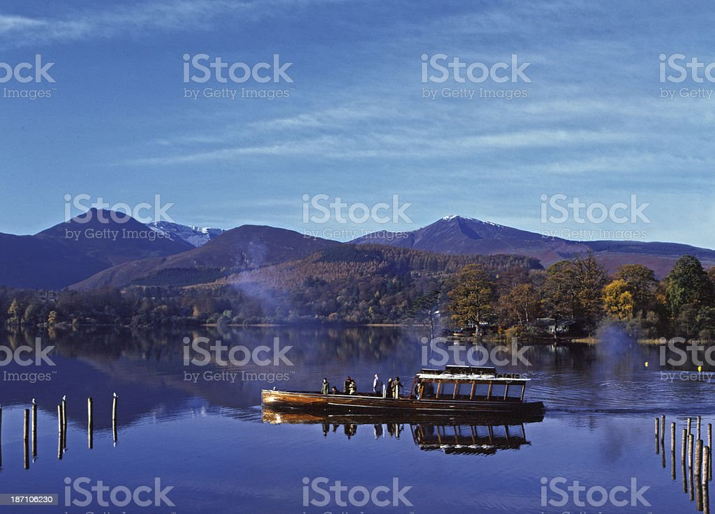 Derwentwater, Cumbria, English Lake District stock photo