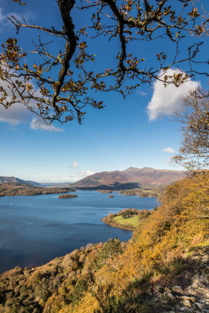 Derwentwater - Surprise View - Lake District stock photo
