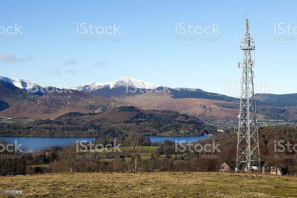 Derwentwater Technology stock photo
