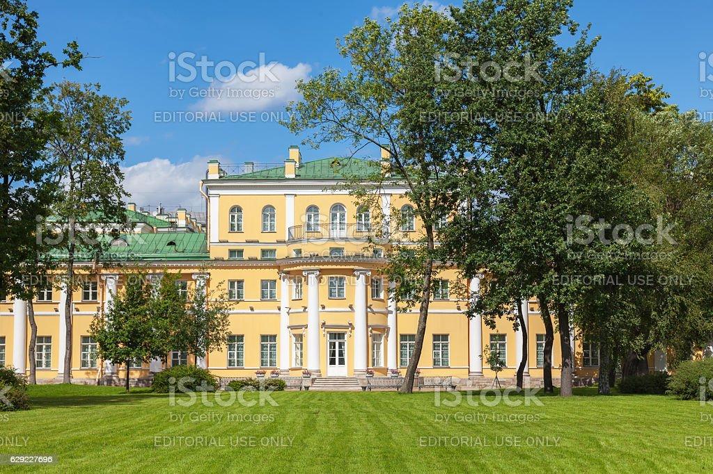 Derzhavin Estate Museum In St Petersburg Russia Stock Photo
