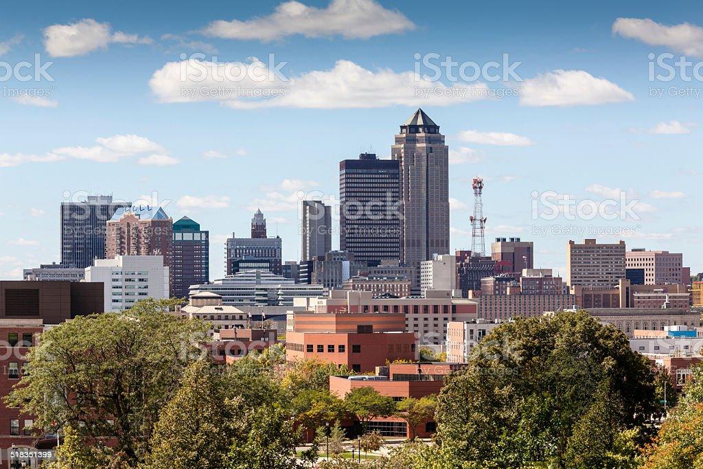 Des Moines, Iowa stock photo
