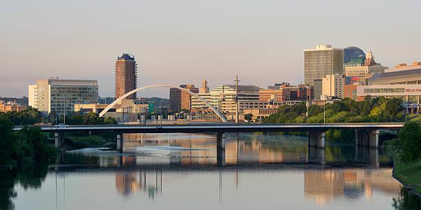 Des Moines Skyline stock photo