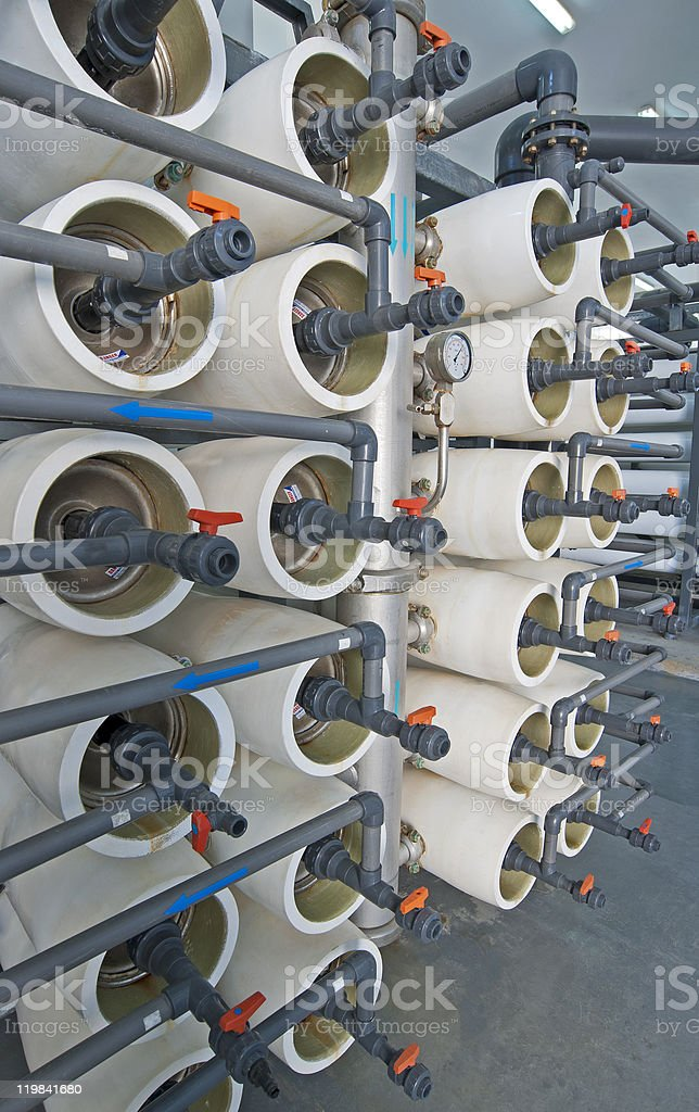 Desalination filters royalty-free stock photo