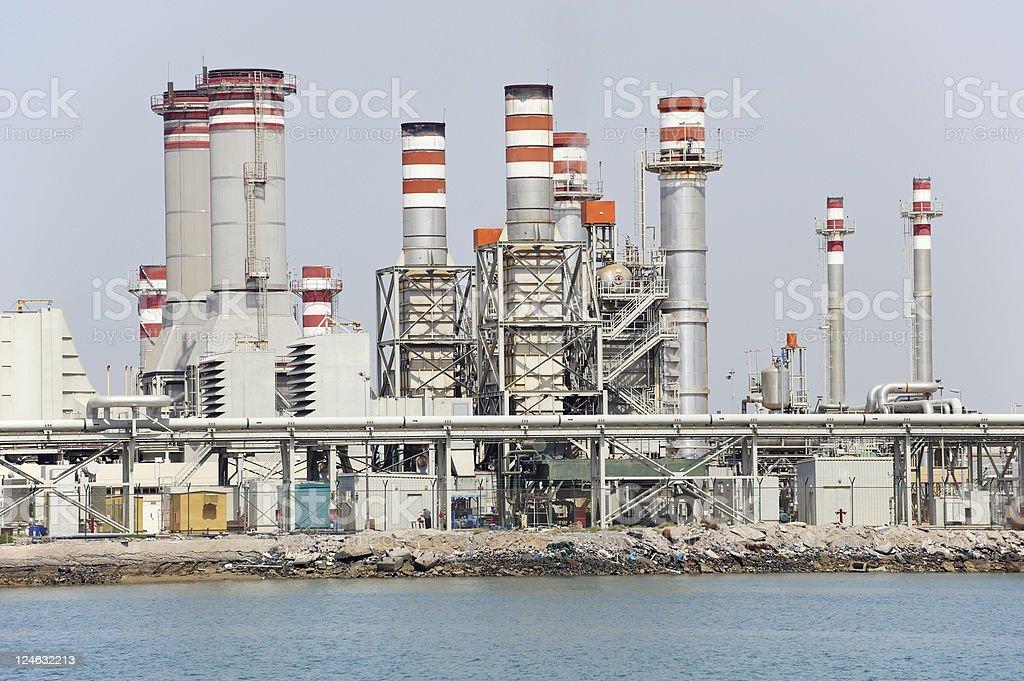 desalination plant royalty-free stock photo