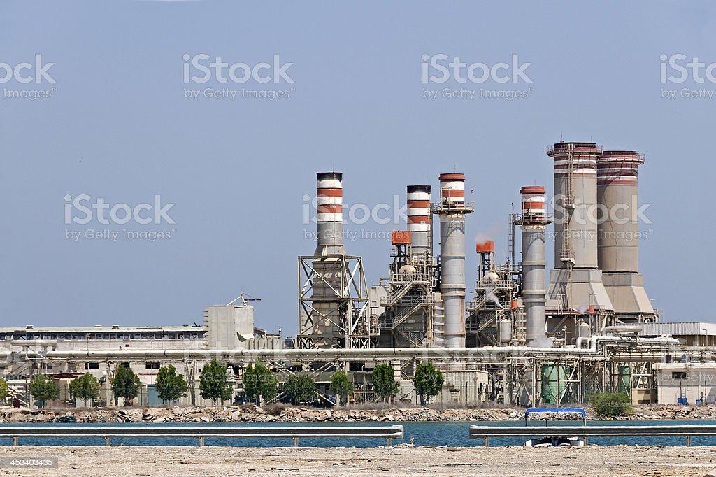 Desalination Plant stock photo