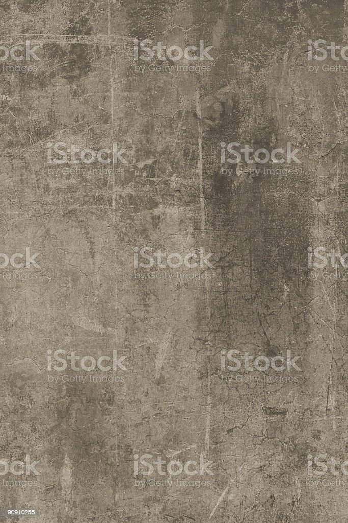 Desaturated grunge Roman wall royalty-free stock photo