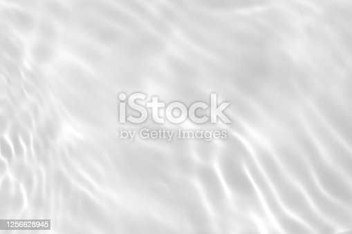 istock desaturated transparent clear calm water surface texture 1256628945