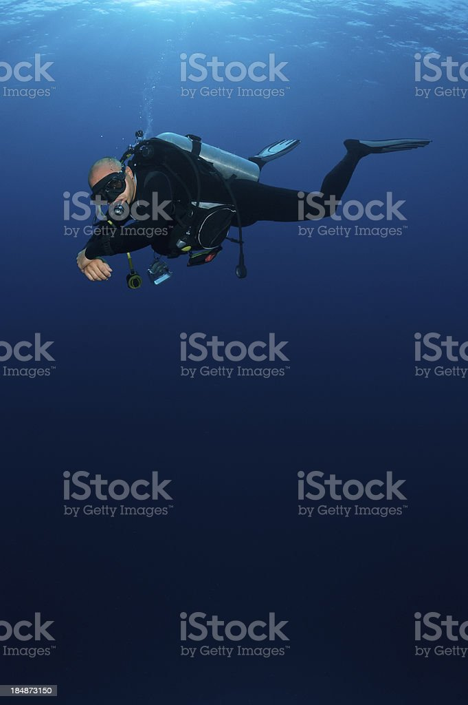 Descend royalty-free stock photo