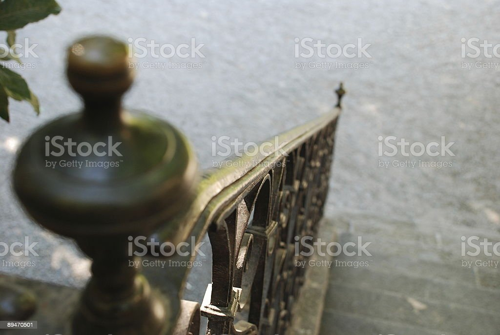 Descending The Stairs royalty-free stock photo