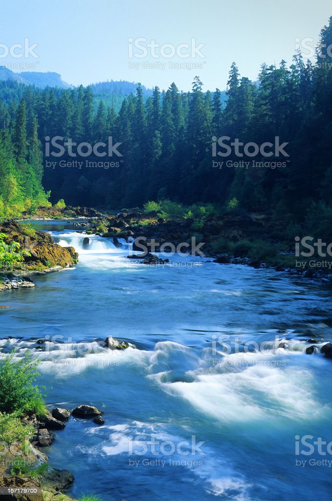 Deschutes River, Oregon, august royalty-free stock photo