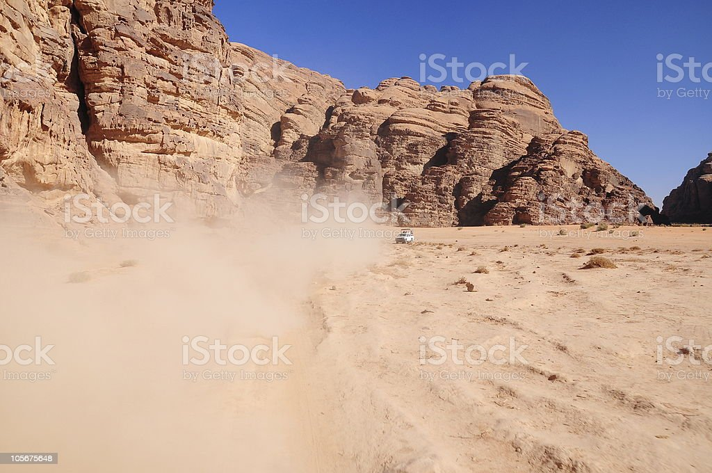 desert and valley royalty-free stock photo