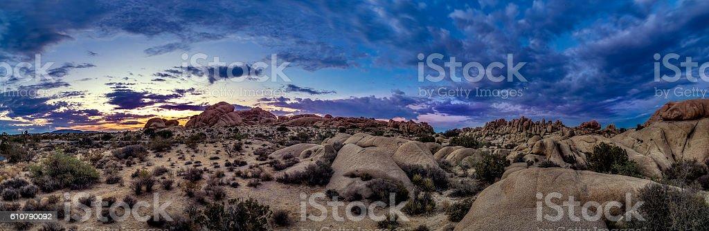 Desert at Night or Golden Hour – Foto