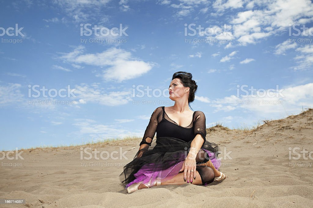 Desert Ballerina royalty-free stock photo