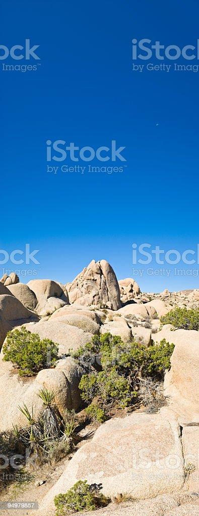 Desert blue royalty-free stock photo