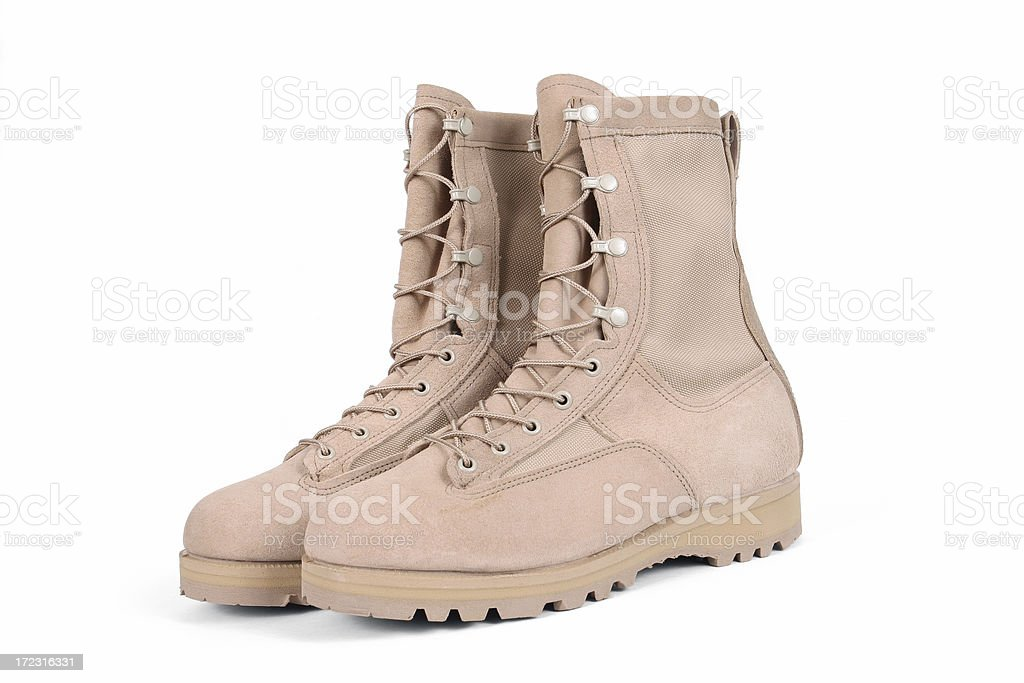 Desert Boots royalty-free stock photo