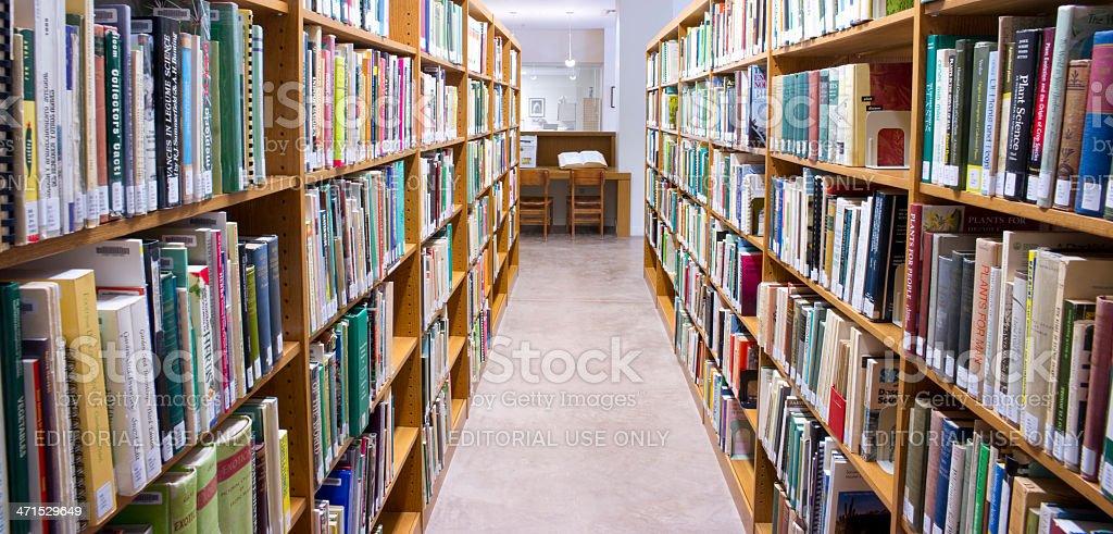 Desert Botanical Garden Schilling Library Books Phoenix Arizona United States stock photo