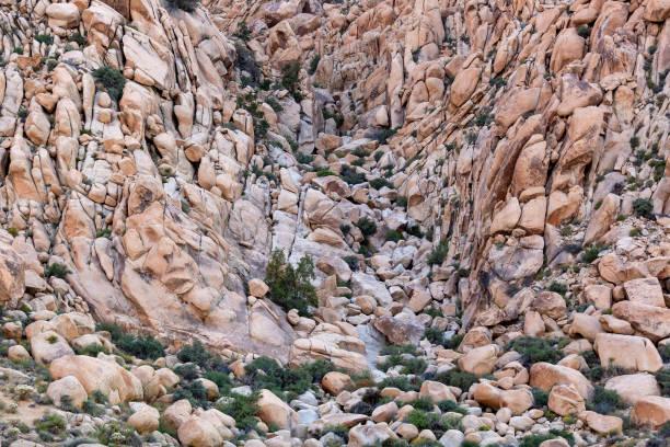 Desert boulders stock photo
