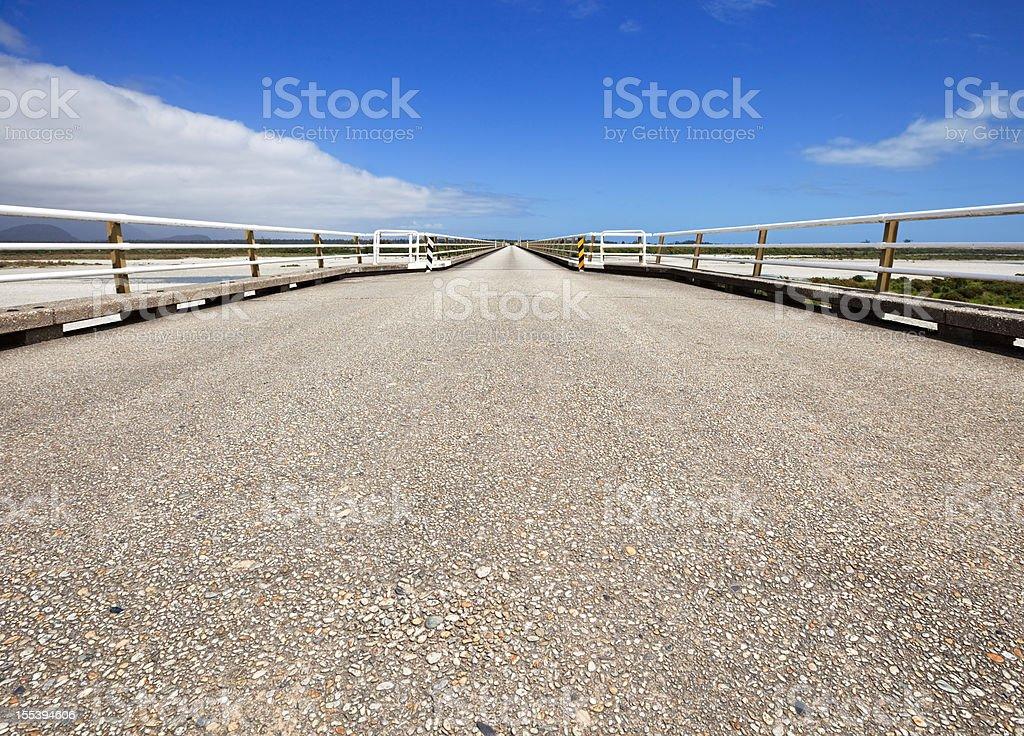 Desert Bridge, New Zealand royalty-free stock photo