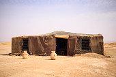 tent camp in the Sahara Desert; Morocco