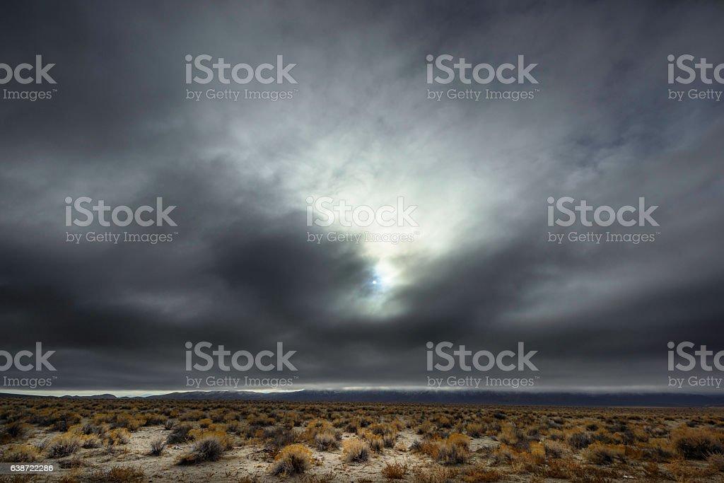 Desert Cloud stock photo