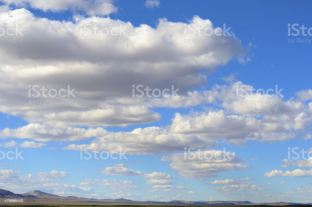 Desert Cloudscape royalty-free stock photo