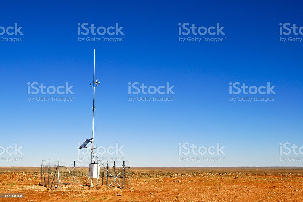 Desert Communications Tower royalty-free stock photo